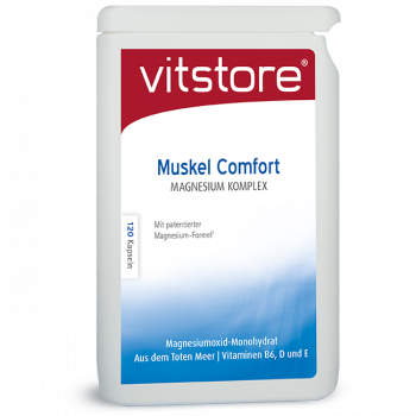 Muskel Comfort Magnesium Komplex 120 Kapseln