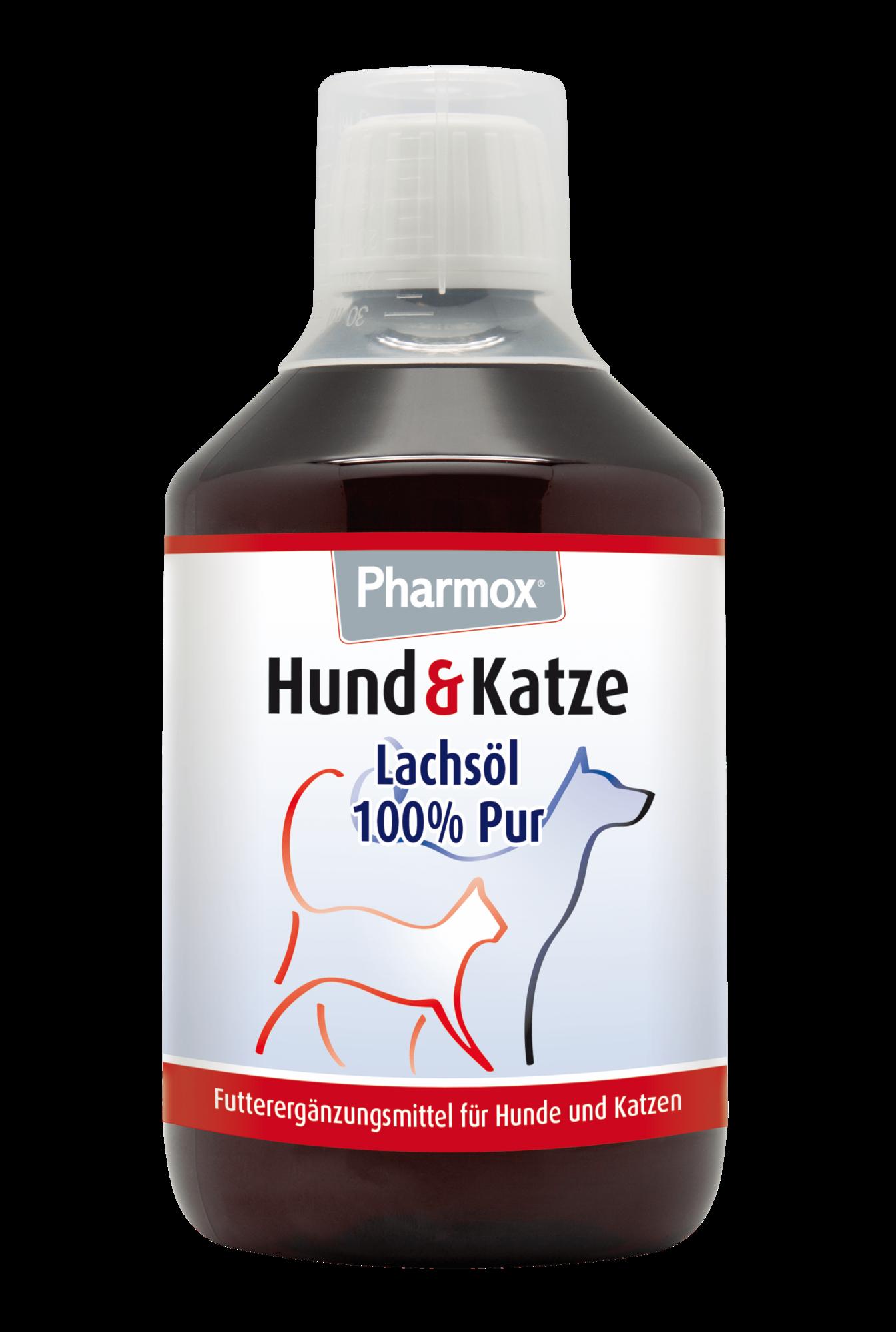 Pharmox Hund & Katze Lachsöl 425 ml