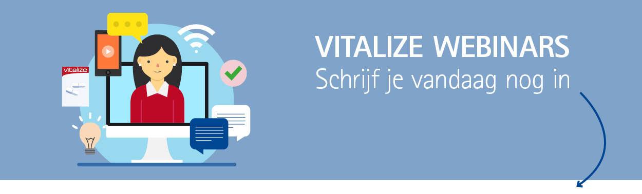 Vitalize Webinars